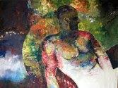 Projekt: El macho Kunde: Privat Umfang: Acryl auf Leinwand _ 1600x2000mm